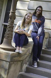 Ashley and Lara