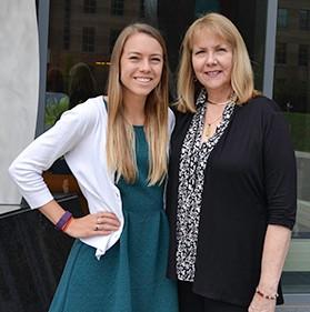 Cindy and Stephanie Richartz