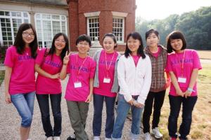 Girls at Orientation